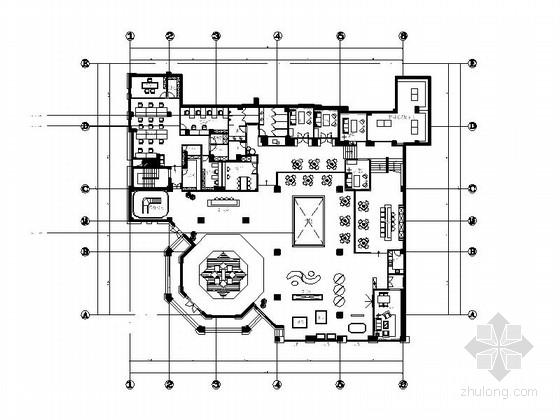 [杭州]现代风售展中心室内装修图