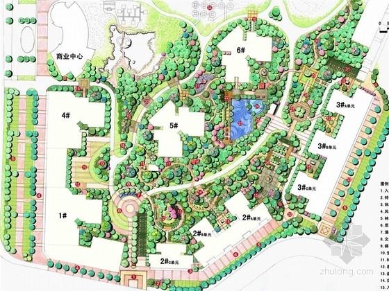 [厦门]临大学城现代绿色居住区景观设计方案