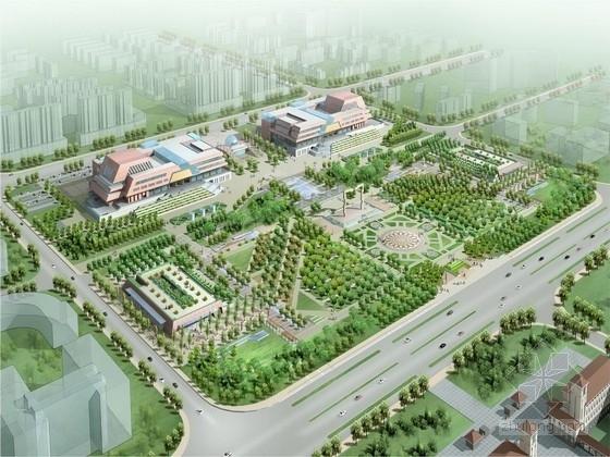 [河南]汉魏遗风城市会议中心景观设计方案(著名设计院)