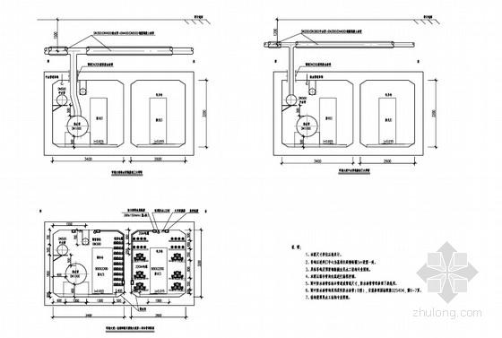 [广东]市政工程综合管廊工艺施工图设计32张