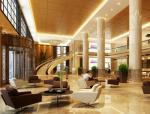 银行大厅3D模型下载