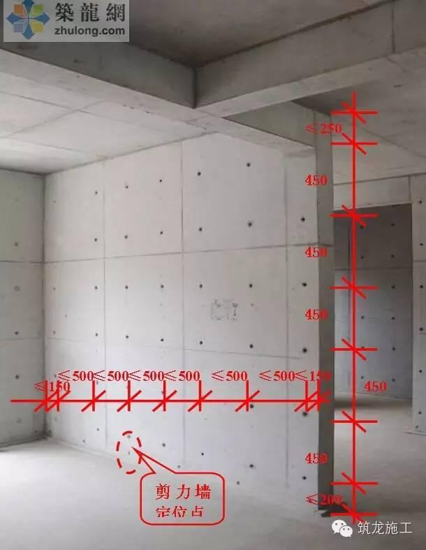 剪力墙支模的标准做法,带图解的那种!