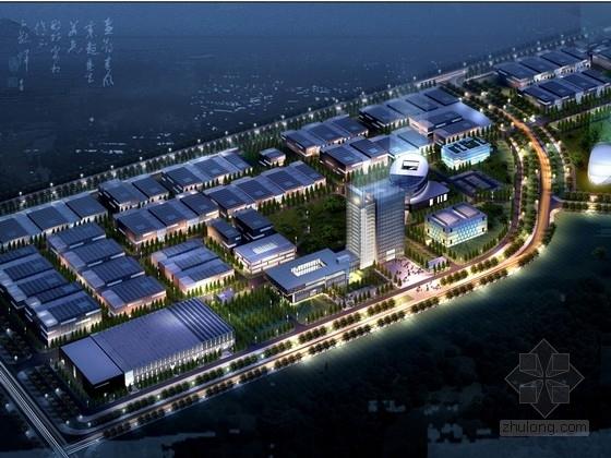 [天津]现代风格科技工业园区规划及单体设计方案文本(知名设计院)