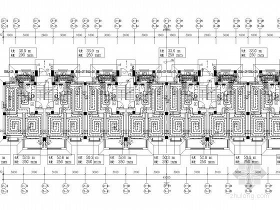 [山东]多层住宅商业楼采暖通风排烟系统设计施工图(含负荷计算)