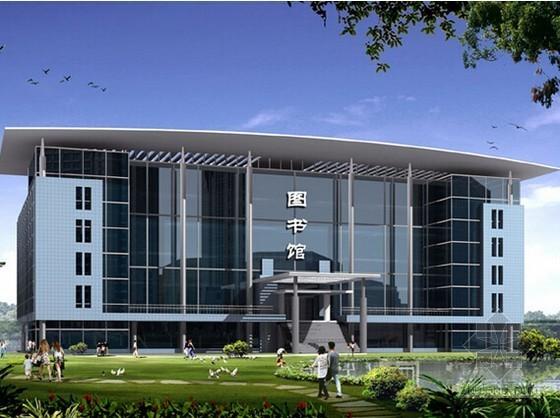 [浙江]2015年8月图书馆装饰工程预算书(含CAD图纸)