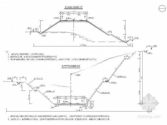 道路工程12m宽路基全套设计图(23张)