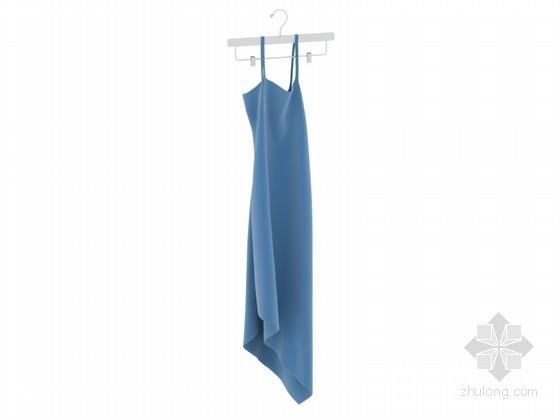 时尚女装3D模型下载