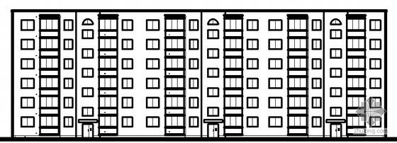 [毕业设计]单元式多层住宅建筑方案图