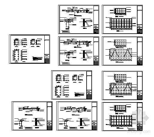 玻璃雨棚施工图