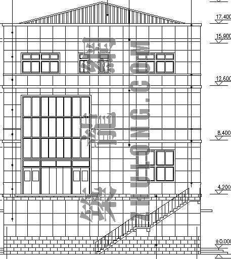 某事务所建筑、结构、暖、电气施工图-2