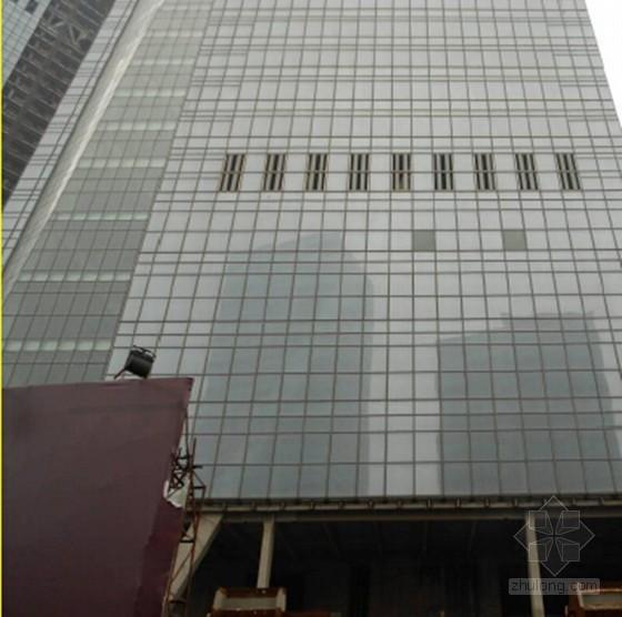 [QC成果]提高超高层单元式玻璃石材组合幕墙安装一次合格率