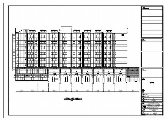 马鞍山市某大厦石材、玻璃、保温一体化幕墙结构施工图