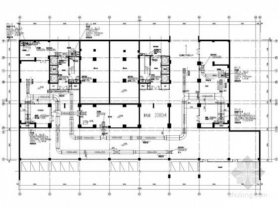[河南]高层商务中心通风及防排烟系统设计施  工图(含节能设计)