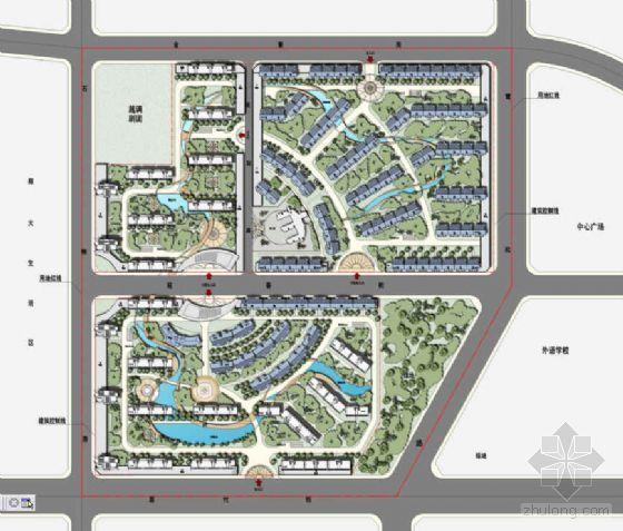 河南郑州某城中村改造景观规划设计方案