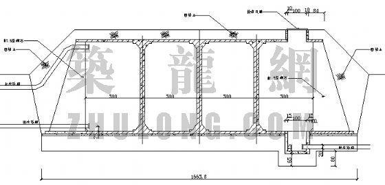 500m3圆蓄水池施工图设计