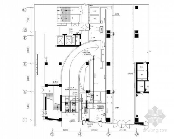 [合肥]大型连锁外企餐厅全套电气施工图纸102张(含装饰 水暖 2014年)