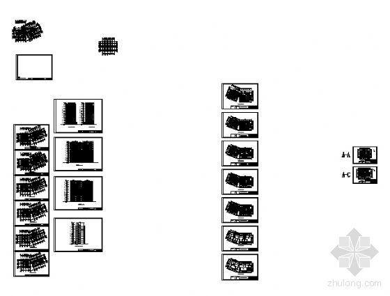某十一层住宅楼建筑方案图-4
