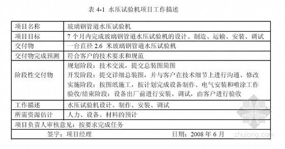 [硕士]项目管理在设备制造企业中的应用研究[2009]
