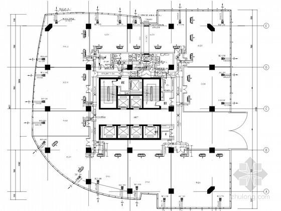 [上海]小高层商务大厦空调及通风系统设计施工图(风冷热泵)