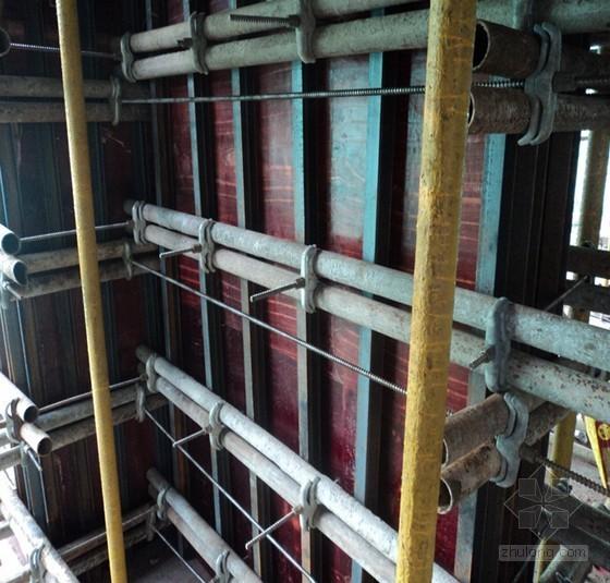 u型墙模板施工方案资料下载-[天津]框剪结构住宅楼工程模板施工方案(58页 附图)