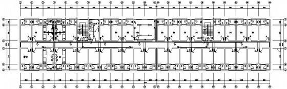 工厂六层宿舍楼电气施工图纸