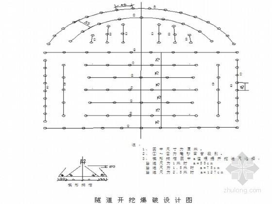 [甘肃]新建铁路山岭隧道钻爆法开挖施工作业指导书