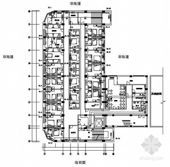 [乌鲁木齐]酒店采暖设计施工图