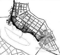 四川小区外围滨江绿化带施工图全套珍藏版