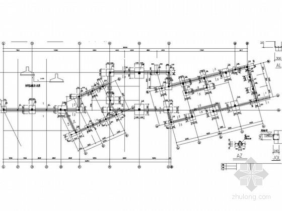 两层框架结构陶瓷创作基地施工图(含建筑图)