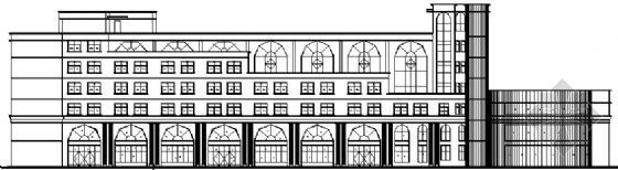 某白银二层商务综合楼建筑施工图