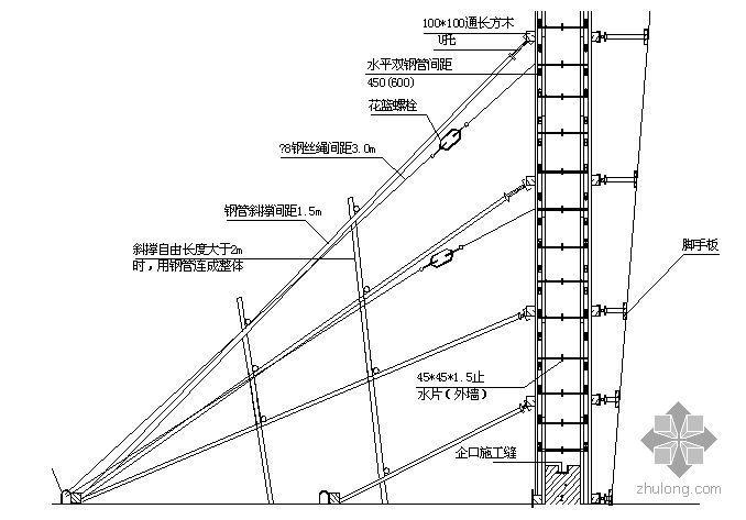 北京某商业楼模板施工方案(小钢模 竹胶合板 计算书)