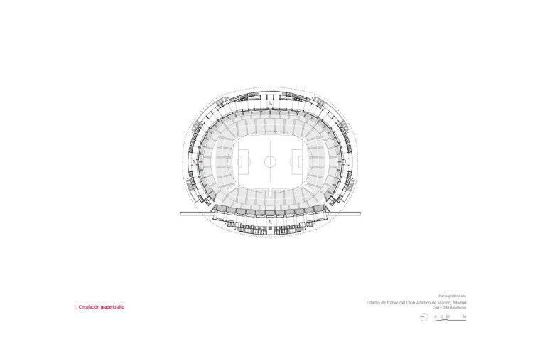 Estadio-de-Fútbol-del-Atlético-de-Madrid_Design-plano_Cruz-y-Ortiz-Arquitectos_CYO_15-planta-graderio-alto