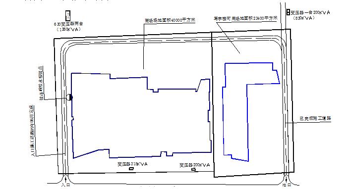惠州华贸商场购物中心施工组织设计(钢骨混凝土,鲁班奖,共565页)_3