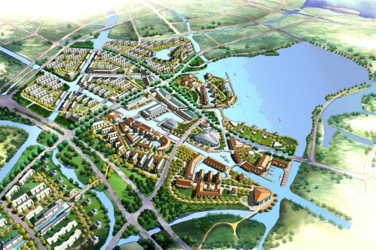 中信朱家角新镇概念性总体规划设计方案文本