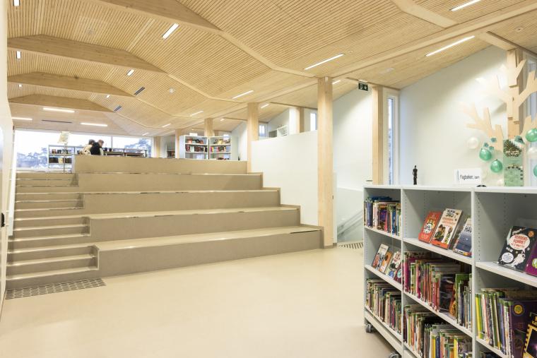 挪威格里姆斯塔德图书馆-9