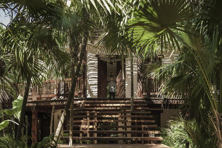 墨西哥图卢姆树屋