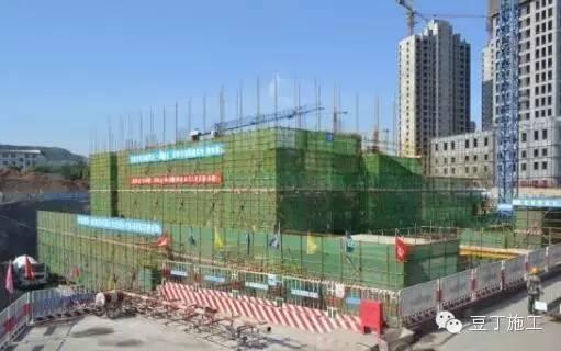 中建内部项目施工现场,安全文明施工样板工地_14