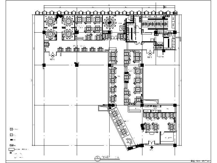 [珠海]中式特色火锅店设计施工图(含效果图)