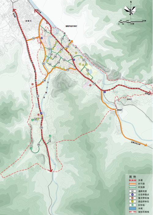 道路交通规划图