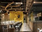 现代西餐厅3D模型下载