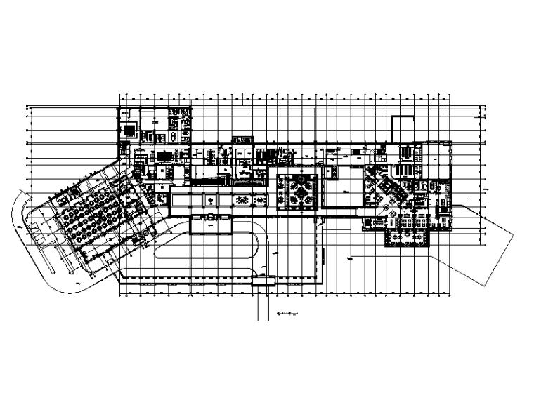 [北京]某国际旅游度假区酒店设计CAD施工图