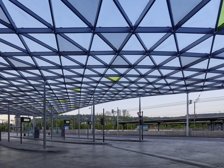 埃斯林根汽车站周围景观实景图 (4)