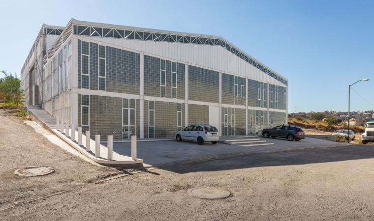墨西哥服务钢铁Xray工厂建筑-2