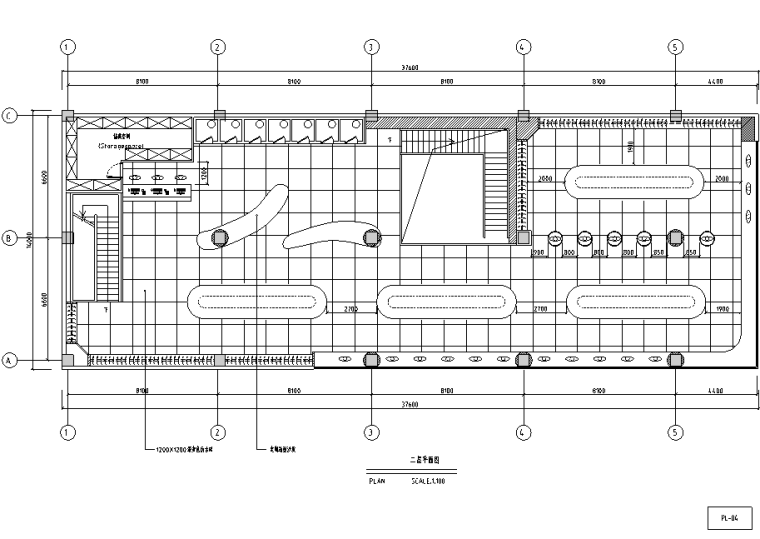 现代服装店设计施工图(附效果图)