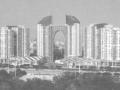 大底盘多塔楼连体复杂高层建筑群结构设计