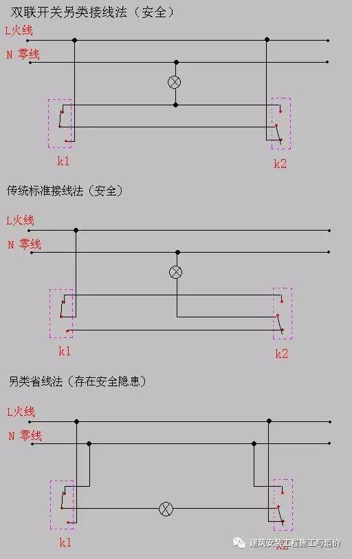 双控开关的接线图_4