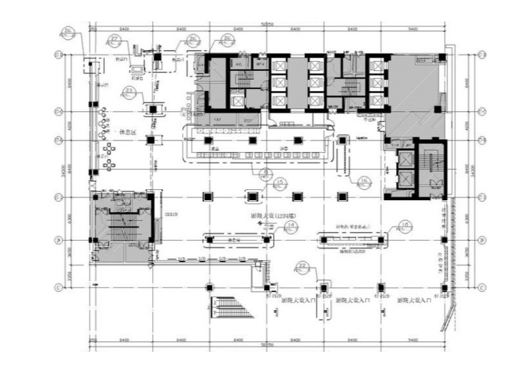 vip休息室平面图资料下载-[大连]BONA博纳国际影城中央大道店室内设计方案+装修施工图+水暖电施工图+效果图