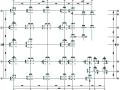 框架结构武警楼结构施工图(CAD,18张)