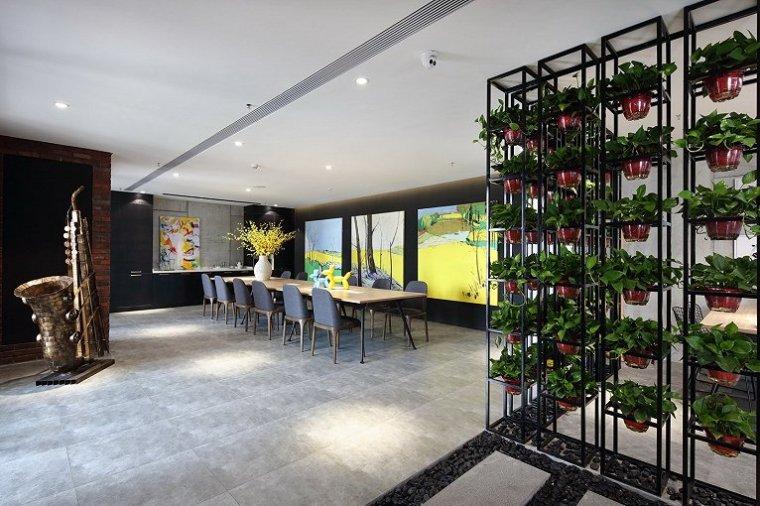 北京自然与设计的融合的办公室-1