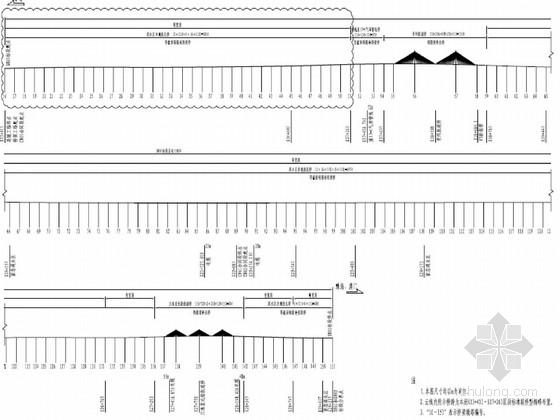 跨海大桥33米宽钢箱梁设计图267张(知名大院)